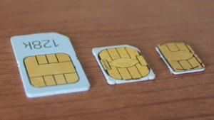 各種SIM